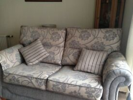 Sofa bed and 2 armchairs