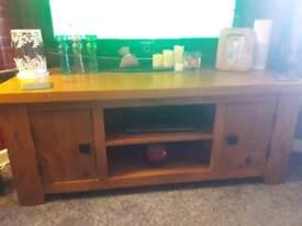 Next Solid Wood Corner TV Unit