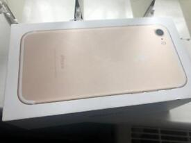 Apple iPhone 7 gold 32gb on EE network