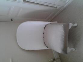 wicker type chair, suitable for bedroom