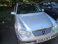 Mercedes C200 K 3 Dr Sports Coupe 1.8 Automatic, Very low mileage ,Full Service History