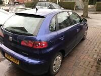 53 Plate Seat Ibiza 1.4 S 5Dr Low mileage Long MOT Excellent Runner (not polo corsa Clio)