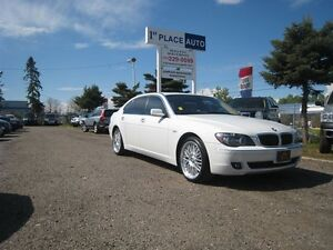 2006 BMW 7 Series LOADED/ LEATHER/ NAV/DVD/ ACCIDENT FREE