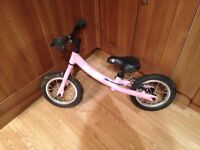 Girls Zooom balance bike