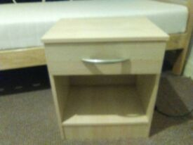 1x Bedside Table