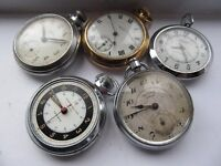 WANTED SMITHS INGERSOLL SERVICES TYPE POCKET WATCHES NO OTHER WATCHES OR POCKET WATCHES
