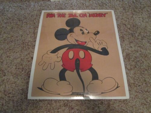 DISNEYANA-1934-Pin the Tail on Mickey-game by Marks Brothers