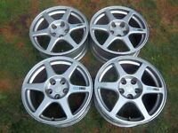 EVO 8 Enkei Wheels Fits Civic Type R, IS200, IS300 and Subaru STI 5x144.3mm stud pattern