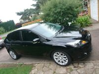 Ford Focus 1.6 **Low Mileage**Black**Great Condition**