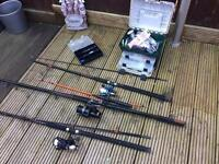 Fishing rods and equipment