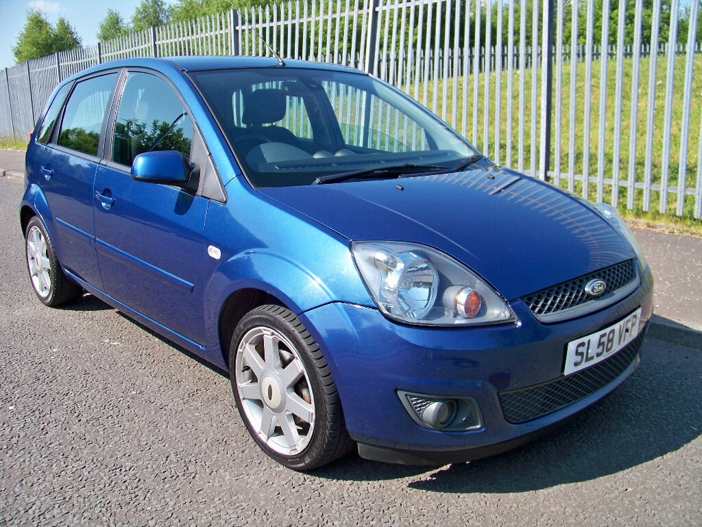 ford fiesta 1 2 zetec blue edition 2008 58 like fiesta zetec climate in drumchapel glasgow. Black Bedroom Furniture Sets. Home Design Ideas
