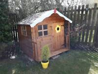 Childrens wooden Playhouse.
