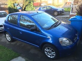 Toyota Yaris cheap runaround mot until Jan