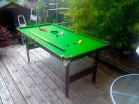 Pot Black Snooker Table...