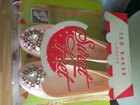 Ted baker size 6 jelly brooch shoes pink