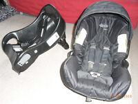 Graco Junior car seat and base