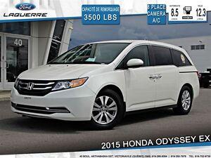 2015 Honda Odyssey EX**CAMERA*8 PASSAGERS*CRUISE *A/C**