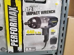 "IMPACT WRENCH 1/2"" 8.5AMP 440 ft / lbs CORDED"