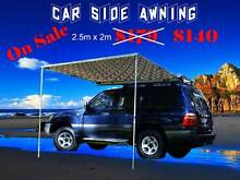 New large Car Roof Side Awning pull out camouflage 2.5m x 2m Everton Hills Brisbane North West Preview
