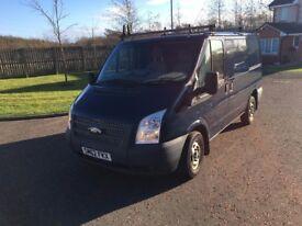 Ford Transit navy blue 2.2 SWB, excellent van. Registered December 2012.