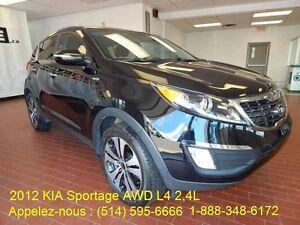 2012 KIA Sportage AWD EN DEMANDE