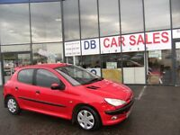 2002 52 PEUGEOT 206 2.0 LX HDI 5D 89 BHP***GUARANTEED FINANCE***PART EX WELCOME***