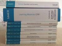 CFA Level II Kaplan/Schweser Textbooks