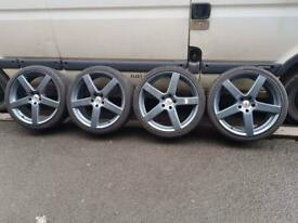 "Genuine Tsw 19"" Alloys wheels 5x112"