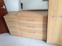 Chest of draws set of 3