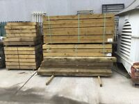 New railway sleepers for sale, don't miss out £17 each