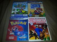 For sale, Nintendo and more video games magazines.