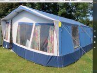 Conway Oxford trailer tent, 8 berth