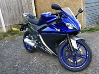 Yamaha, YZF, R125 , very low milage only 9000 mile !!!