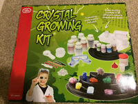 Crystal growing kit for kids or adults