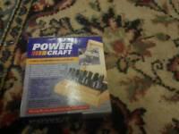 Power Craft 4 piece Chamfered cutter set
