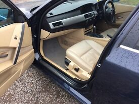 bmw e60 530d low milage,good condition