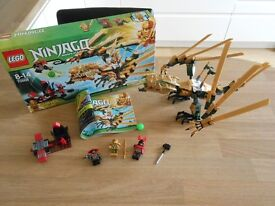 "Lego Ninjago set 70503 . ""The Golden Dragon"""