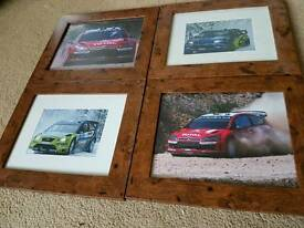 Set of 4 rally photos