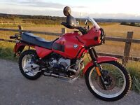 BMW R 100 GS 1993 with PD tank