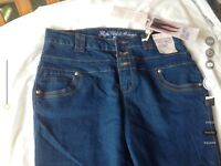 High waisted jeans size 14 BNWT