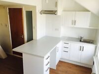 Brand new fully refurbished split level characterful 1 bed flat in imposing Victorian building