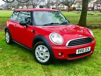2010 MINI 1.4 PETROL ** 1 OWNER FROM NEW ** FULL MAIN DEALER SERVICE HISTORY **