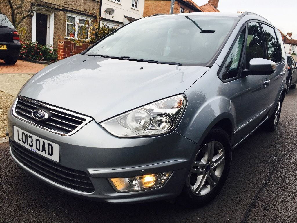 FORD GALAXY 2013 AUTO DONE ONLY 58000 MILES 2 KEYS HPI CLEAR VAT QUALYFING NOT PRIUS HONDA VW