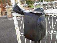 Black Passier Dressage Saddle