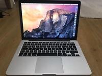 Mac Book Pro Retina Display 13 Inch Mid-2014