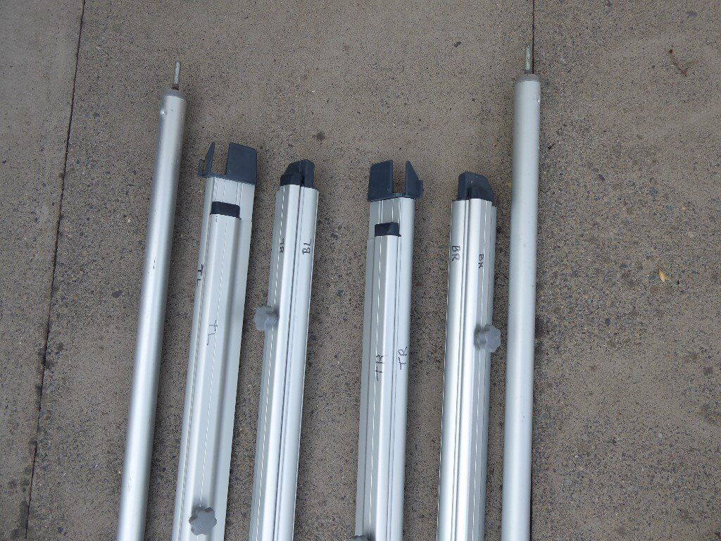 Fiamma Clip system for a Fiamma F45I wind out awning.   in ...