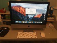 iMac 21.5-inch, Late 2015, 2.8 GHz i5, 8GB Ram, 1TB Hard Drive and half year warranty left