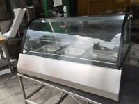 CATERING COMMERCIAL BRAND NEW WET HOT FOOD BAIN MARIE DISPLAY CABINET CUISINE CAFE SHOP TAKE AWAY