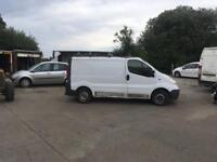 BREAKING 2010 RENAULT TRAFIC 2.0 DCI FOR PARTS