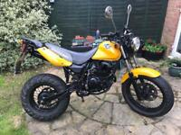 Full-size 125cc motorbike